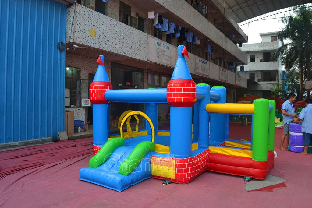 Mini bouncer bouncy castle for kids, inflatable  air bouncer castly  for sale