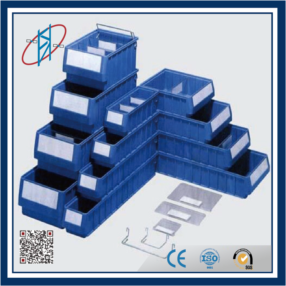 warehouse storage plastic bins