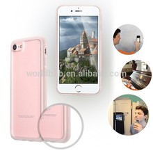 Clear Self Sticky Nano-suction Hands-Free Anti-Gravity Phone Case Selfie Shockproof Cover for Apple iPhone 8