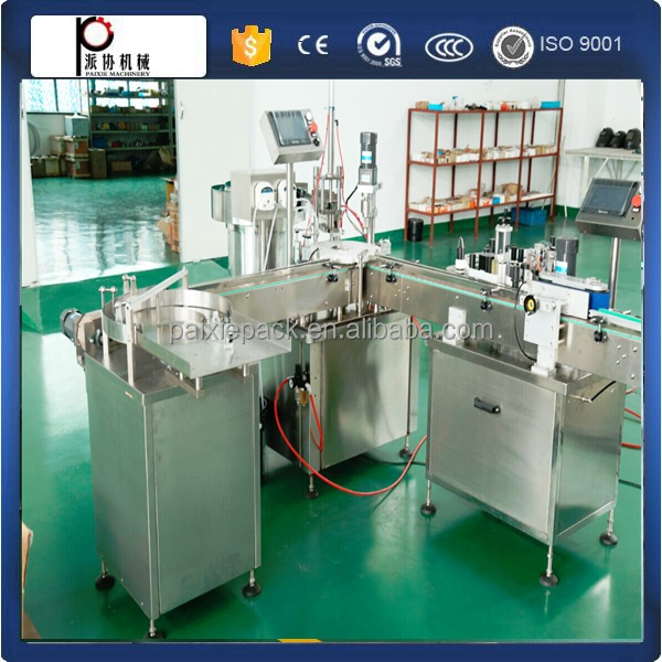 CE approval 2 years warranty automatic small bottle filling machine essential oil in factory price