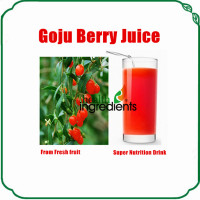 Chinese goji berry powder ruit concentrate juice