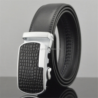 Guangzhou factory hot sale pu reversable ratchet belt