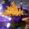 Outdoor led lighted flower tree maple tree for garden decoration