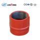 FM&UL Water quick grooved coupling in hydraulic system fittings