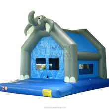 cheapest and High-quality EN71 certificated elephent inflatable bouncers for adults