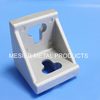 4545A-10/4545B-8Bracket used in Aluminum profie 2 Hole angle bracket wall shelf bracket lcd tv wall bracket