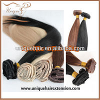 Best quality grade AAA 100% Brazilian clip in hair extension