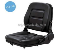 HIgh Quality Forklift Seat China Supplier Backrest Adjustable Tractor Driver Seat With Armrest YH-16