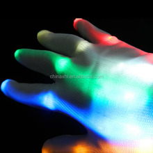 High quality led flashing light up gloves amazing lights gloves