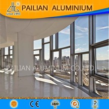 Germany Moser brand building supplier Aluminum Unitized Curtain Wall,aluminium window frame structure,Aluminum Window Mullions