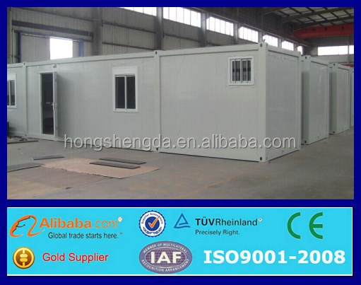 40 feet ready made container house pre manufactured homes