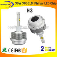 Top quality 30w high lumen 9005 led headlight 12 months warranty H1 H3 H4 H11 9005 9006 avalible