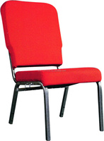 Hot Sale Item Metal Padded Stackable Chair For Church