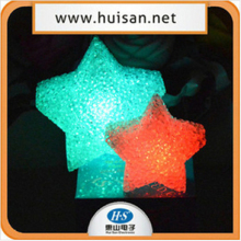 factory price plastic night light, led christmas stars,night club decor