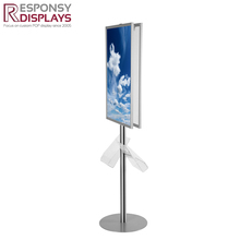 High quality metal floor or customized display stand for paintings