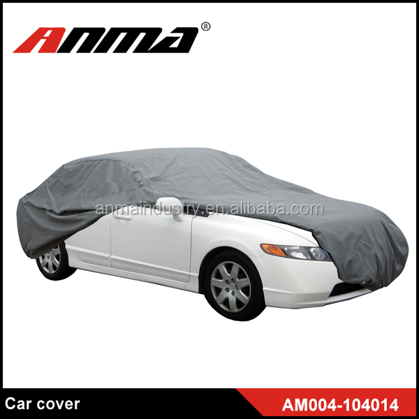 Indoor Outdoor Dust / UV Proof SUV Universal Durable PEVA & PP Cotton Car Cover