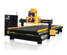 4.5kw HSD spindle Multi head cnc router, 3d cnc wood design machine router, cnc router for guitar making