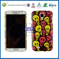 Crystal candy colors plastic material back cover case for samsung galaxy s4 i9500