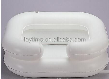 New style white pvc inflatable swimming pool, inflatable portable bathroom toilet pool