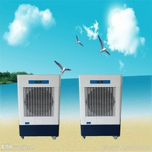 evaporative floor standing air cooler with wheels design