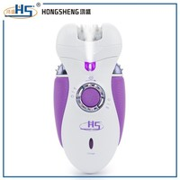 Hot selling lady shaver epilator rechargebale 3 in 1 electric epilator
