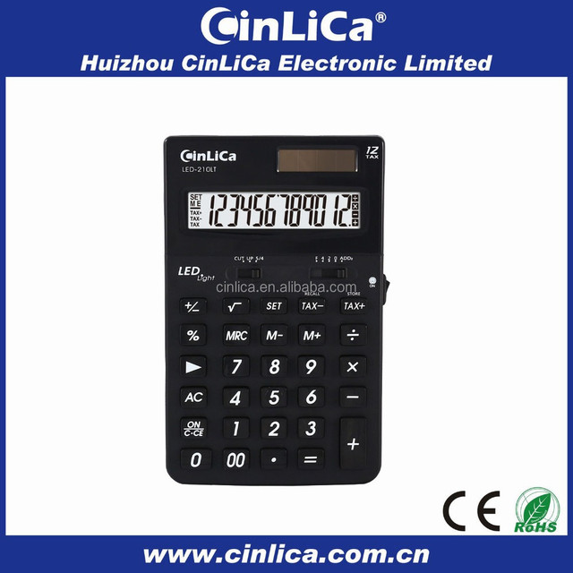 big size graphing silicone electronic calculator using scientific calculator LED210LT