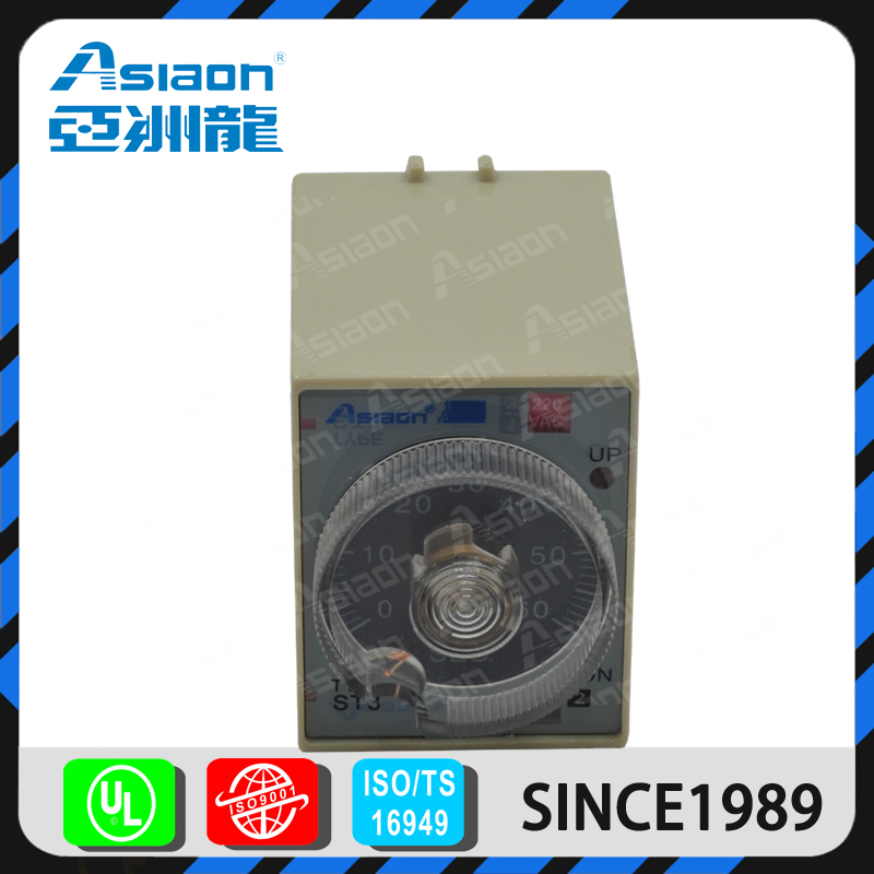 Asiaon AS3P ST3P 8pins electronic time relay