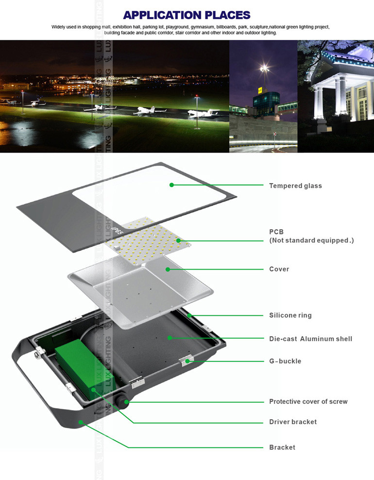 DC12/24V floodlight 10W 20W30W50W