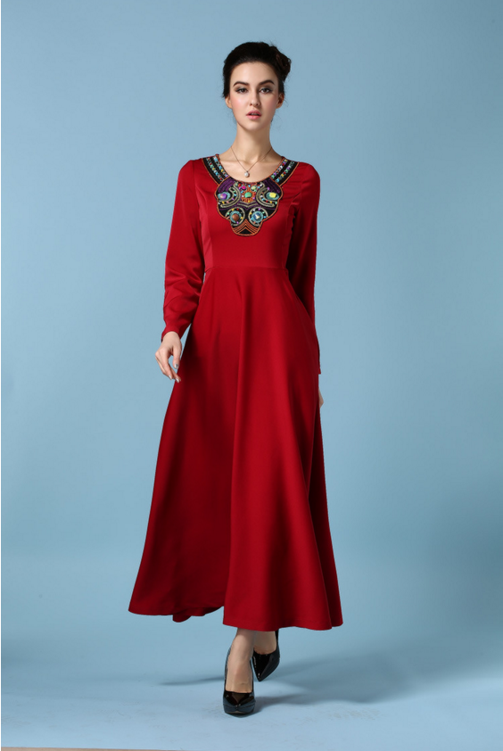 Amazing Zuhair Murad Evening Dresses 2014 Sheath Long Sleeve Muslim Evening Dress for Women
