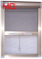 aluminium stainless steel security window screen mesh roll up window shutters