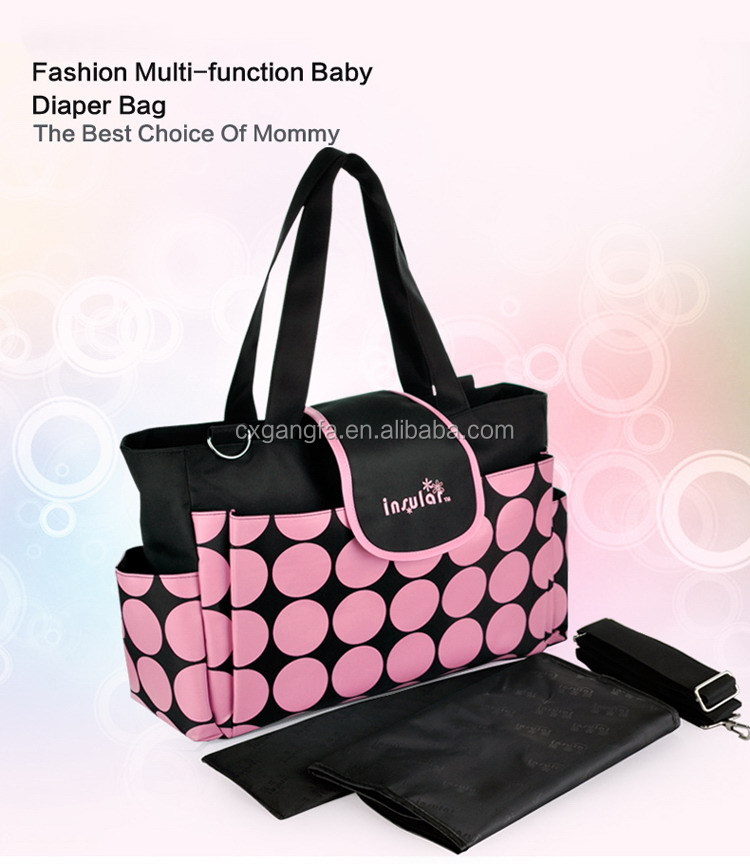 2017 hot sell diaper bag for promotion
