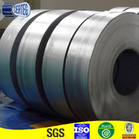 GI galvanized steel strips in coil / Black Bainted / Blue Steel Metal Strapping / Steel Packing Strips