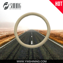 LEATHER CAR STEERING WHEEL COVER GENUINE LEATHER STEERING WHEEL COVER