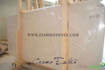 Crema Nova Polished Marble Slab