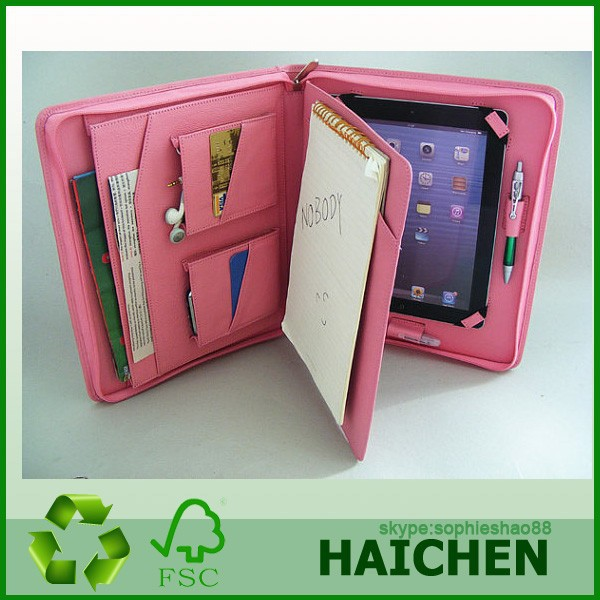 For Tablet Mini Smart Case Portfolio Pink leather case