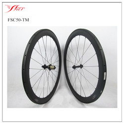 Toray carbon wheels 50mm 20.5mm wide tubular cycling bike for road bicycle 3Kmatt with Basalt braking surface