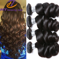 Peruvian Virgin Hair Loose Wave 7A virgin 3pcs 8-26inch Human Hair Unprocessed Peruvian Loose Wave virgin hair Extention