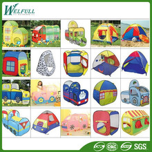 Newest Design Carton Kids Play Tent Folding Car Tent For Children