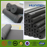 high density foam pipe insulation/nitrile closed cell/ 1/2 foam tube