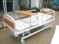 Popular at reasonable price 3 crank manual bed medical for sale,hospital bed parts,hill rom hospital bed with table CY-A103D