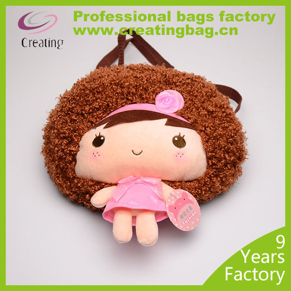Beauty Doll Plush Toy Bags for baby girls
