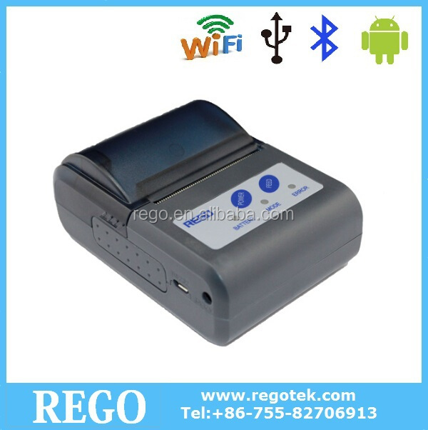 2015 new style Usb Wireless bluetooth IOS all in one portable handheld printer