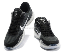 Authentic basketball shoes men's shoes spring net surface breathable running shoes summer