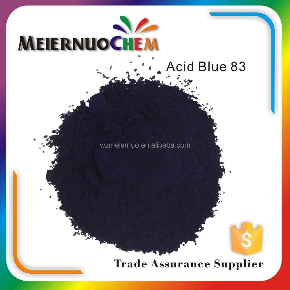 competitive acid blue 83 water based textile dyes and chemicals