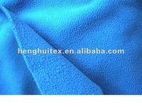 100%polyester micro knitting dyed antipilling polar fleece fabric