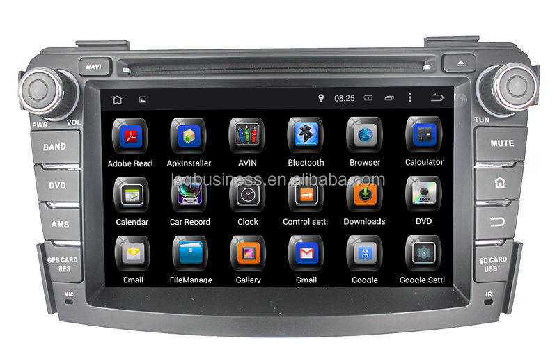 Quad Core Android 4.4 Touch Screen Central Multimedia for Hyundai I40 Car Audio DVD Player With GPS Navigation