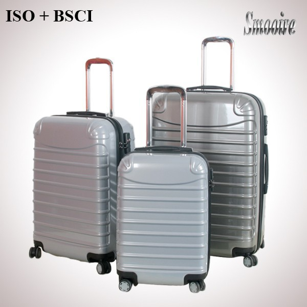 hot sell PC 4 wheels aluminum trolley case