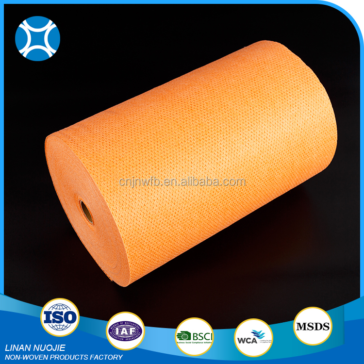 Disposable Kitchen Spunlace Nonwoven Wipe Fabric Cloth