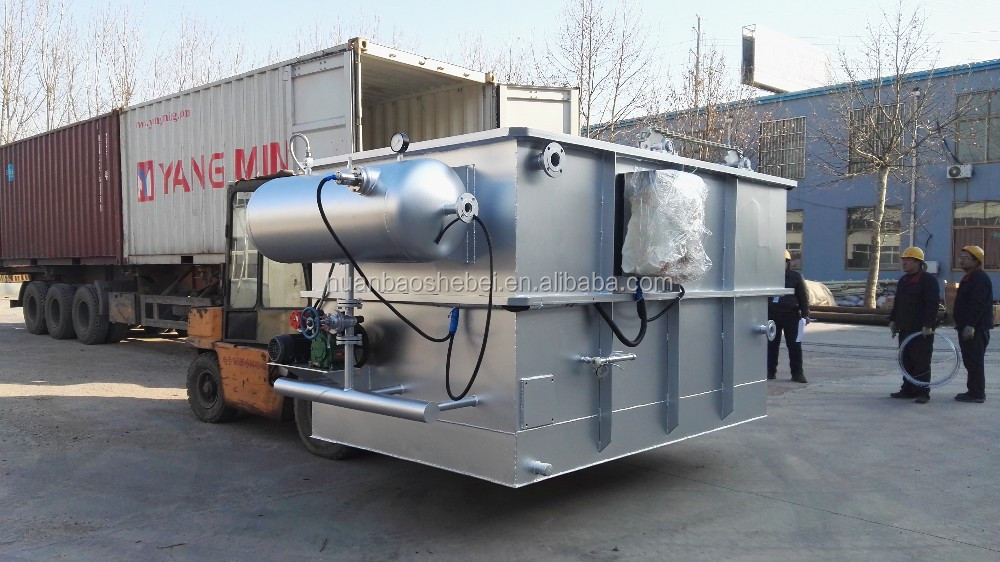 DAF Unit for DAF Dissolved Air Flotation Oil Water Separation, Oily Water Separator
