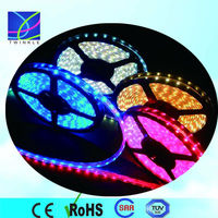 with strong 3M adhesive 3 chip nonwaterproof smd 5050 24v rgb led strip light